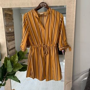 Indulge striped dress